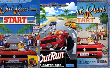 Collage portadas outrun