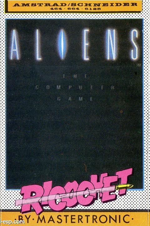 aliens_cover_cinta_ricochet_esp