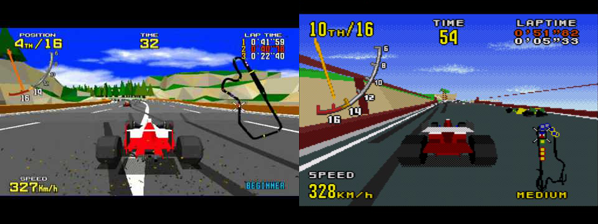 collage virtua racing