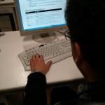 Asistente al taller aprende a dibujar en pantalla en BASIC