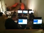 Primera sesión de tarde del taller de programación de videojuegos