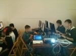 Concentración programando videojuegos en BASIC