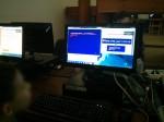 Marcador para videojuego creado en BASIC