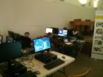 Programando videojuegos hasta en el descanso