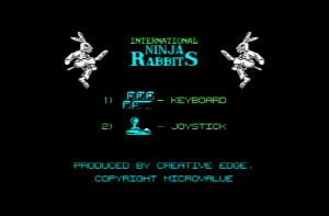 Int Ninja Rabbits Menu