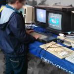 Aprendiendo en Amstrad CPC desde pequeños