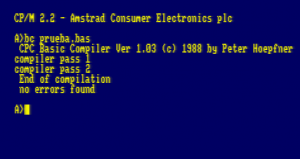 Ejemplo de compilación con FABACOM