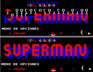 Portada superman DATAS corruptas