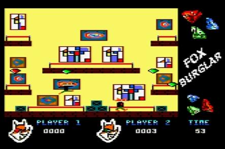 Fox Burglar / Cocos (Amstrad CPC, 2013)