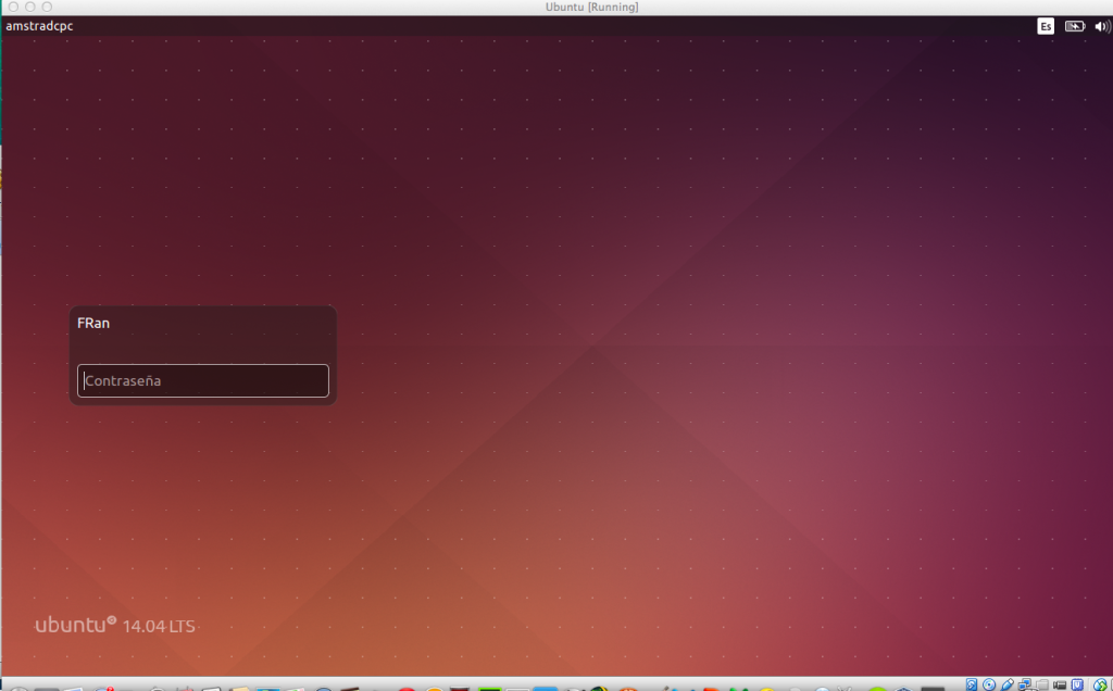 Ubuntu 14.04 en VirtualBox