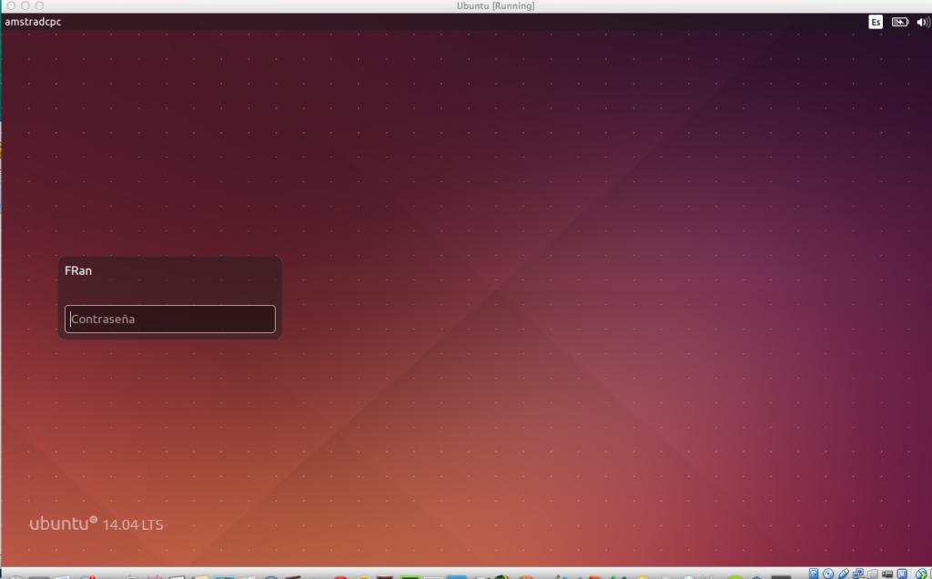 Ubuntu 14.04 en VirtualBox