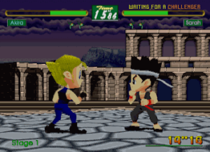 Virtua Fighter Kids (E)