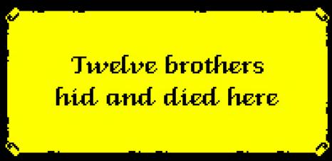 Pergamino del juego L'abbaye des morts