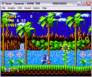 Gens-SEGA-Emulator